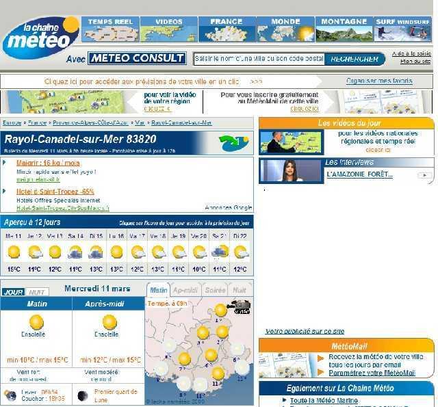 votre meteo locale prevision a 12 jours avec meteo consult